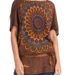 Women's Desigual Brown Carly Tunic